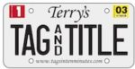 Terry's Tags & Title